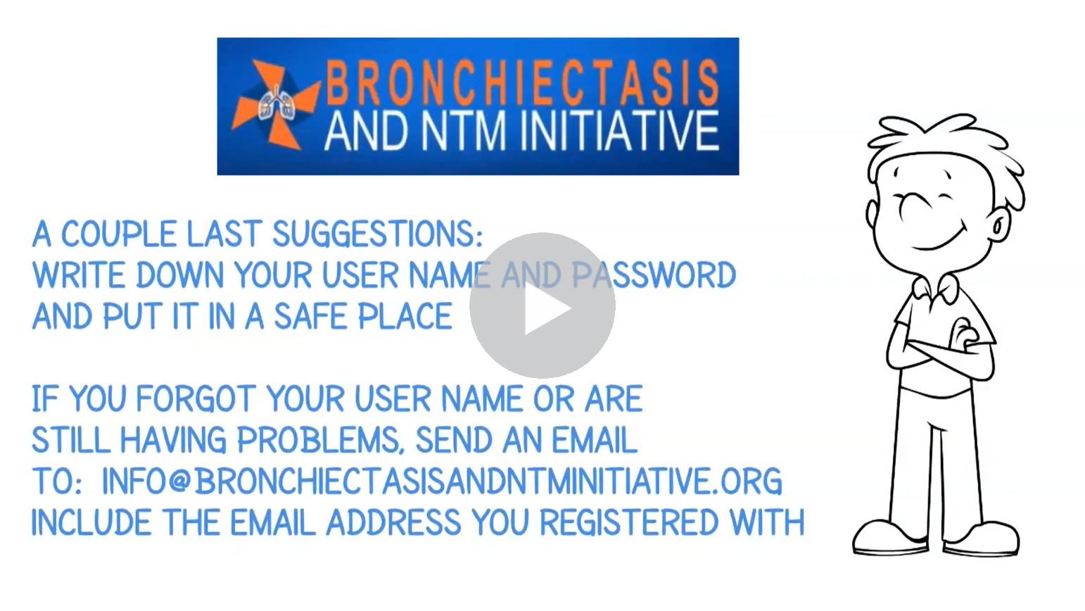 How to Reset a Forgotten Password. Click to watch the video.